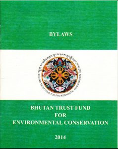 BTF ByLaws 2016 - Bhutan Trust Fund